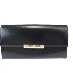Cartier Santos Bi-fold Leather Wallet